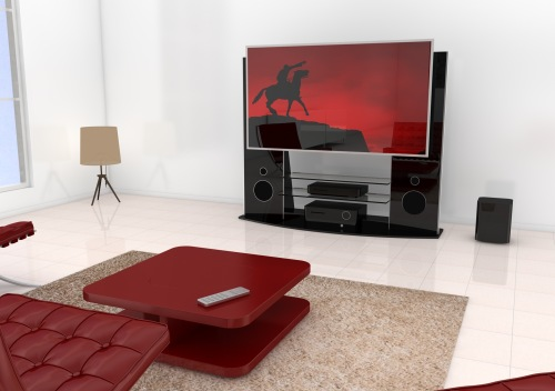 designstarke tv m bel mit eingebautem soundsystem. Black Bedroom Furniture Sets. Home Design Ideas