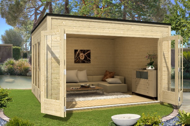 gartenhaus mit terrasse aus polen das beste aus wohndesign und m bel inspiration. Black Bedroom Furniture Sets. Home Design Ideas